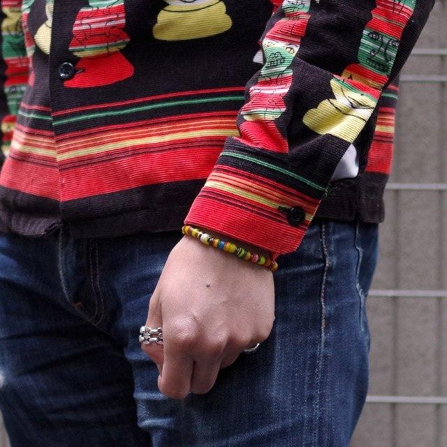 【現貨商品】【M.Cohen】非洲剛果仿舊串珠手環 (MC-B-101061-SLV 07165100OK ) 3