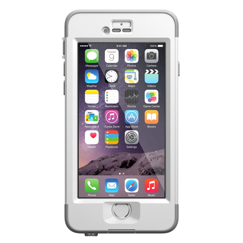 Case Design lifeproof phone case accessories ... : iPhone 6 4.7u0026#39; Lifeproof Nuud Series WaterProof Cover Case - White