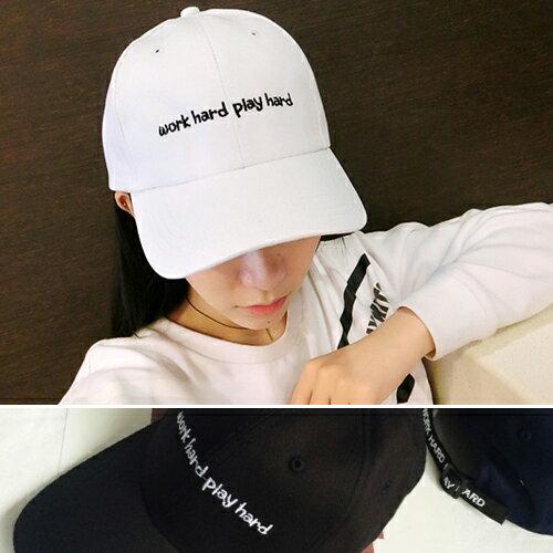 棒球帽/鴨舌帽 字母 運動 可調節 遮陽帽 棒球帽【QI8525】 BOBI  09/01 0
