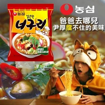 有樂町進口食品 農心昆布烏龍麵-辣味 另有微辣口味 8801043014984