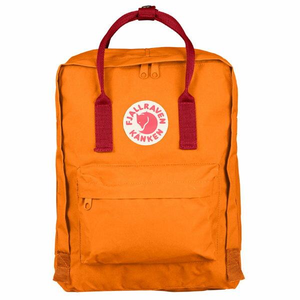 瑞典 FJALLRAVEN KANKEN  Classic 212-325 焦橘/深紅 小狐狸包 1