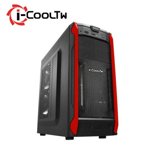 i-cooltw無極鬥士 Q6 黑紅色
