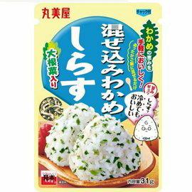 日本 丸美屋 DIY飯糰拌飯鬆 31g (魩仔魚)