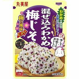 日本 丸美屋 DIY飯糰拌飯鬆 31g (梅子)