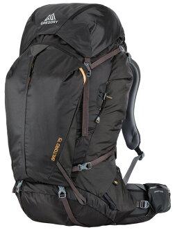 Gregory |美國|  Baltoro 75 登山背包《男款》/重裝背包 自助旅行背包-黑M/65780 【容量75L】