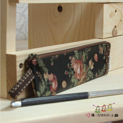 Queen Cat 皇后與貓 -【環保筷子包(短) -黑玫瑰】*臻ZAKKA小舖*防水包包雜貨