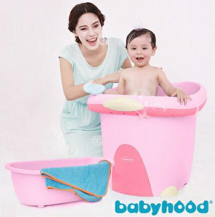 【安琪兒】【Babyhood】泡泡鴨二合一浴桶-粉色 0