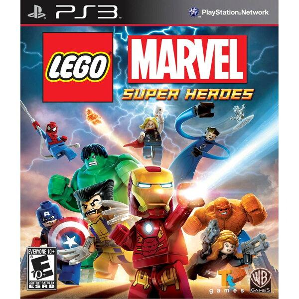 PS3 樂高 驚奇超級英雄 英文美版 (附30組人物道具密碼表) LEGO MARVEL