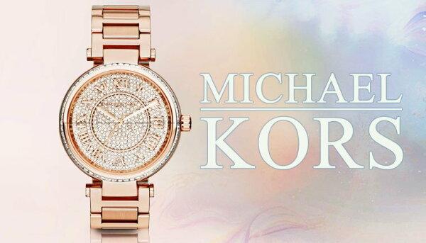 美國Outlet正品代購 MichaelKors MK 復古羅馬數字玫瑰金水鑽  陶瓷  三環 手錶 腕錶 MK5868