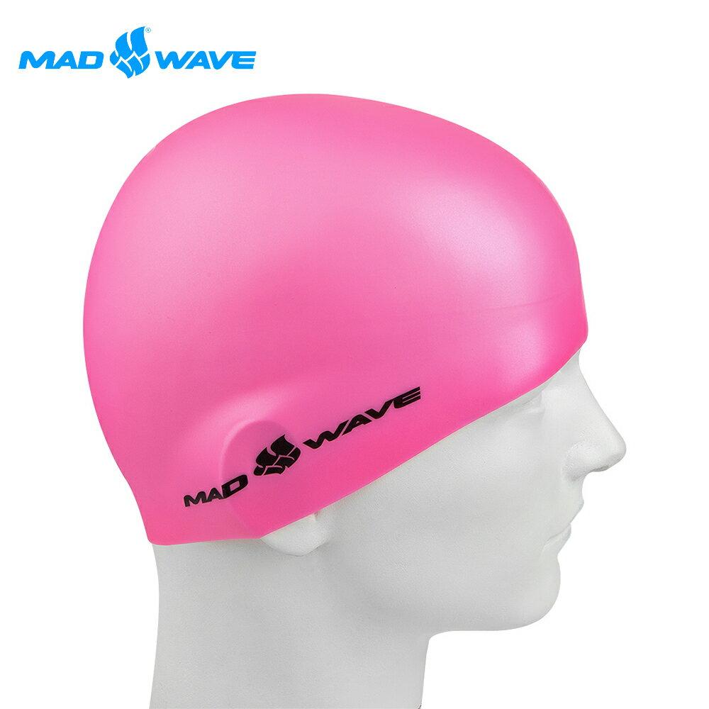 俄羅斯MADWAVE成人加大舒適矽膠泳帽LIGHT BIG 0