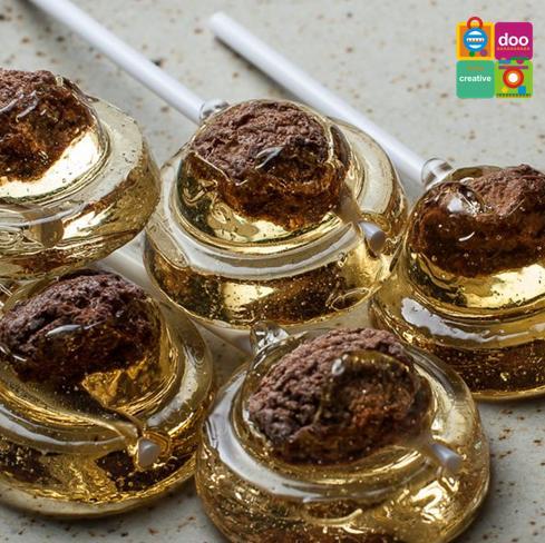 【圓荳】黃金棒棒糖8支入112g