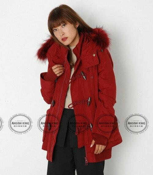 日本代購 正品 2016 SLY-N3B 牛角扣 秋冬新款 短版軍裝羽絨保暖連帽毛毛外套 四色可選 3