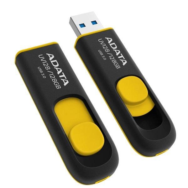 *╯新風尚潮流╭*威剛 DashDrive UV128 128G 3.0隨身碟 圓弧流線設計 簡約時尚清麗 終保 AUV128-128G