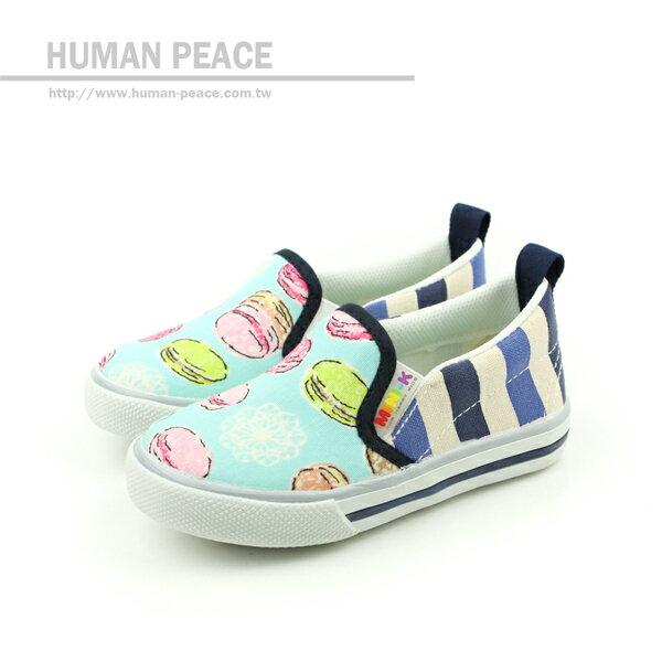 MINI-K 懶人鞋 藍 中童 no016