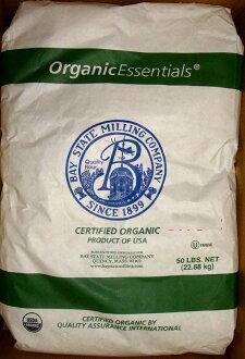 美國原裝有機高筋麵粉22.8公斤(38台斤)