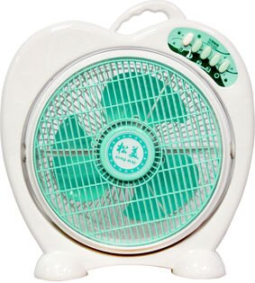 【松美】蘋果造型10吋冷風循環箱扇/小蘋果SM-1058