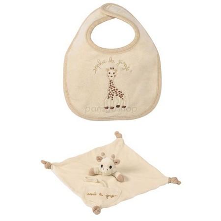 最新包裝 法國Vulli 蘇菲有機棉新生兒四件禮盒【巴黎好購】 3