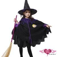 萬聖節Halloween到天使甜心 HW0046 淘氣女巫 萬聖節童裝系列 聖誕裝 表演服
