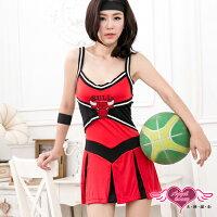 萬聖節Halloween到天使甜心 KY6838紅黑 籃球 啦啦隊 角色扮演 角色服 萬聖節 耶誕裝 表演服