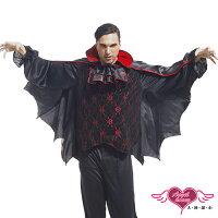 萬聖節Halloween到天使甜心☆ TH0038黑紅 死亡骷髏吸血鬼 角色扮演 角色服Party 萬聖節 聖誕節 表演服