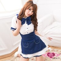 尾牙推薦商品到天使甜心 YC415白藍 女僕裝 角色扮演 萬聖節 尾牙表演服
