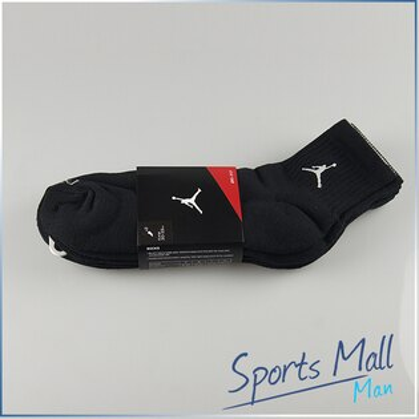 NIKE 耐吉 NIKE AIR JORDAN CREW SOCK DRI-FIT 3入  籃球專用短襪  專業運動襪 546480012