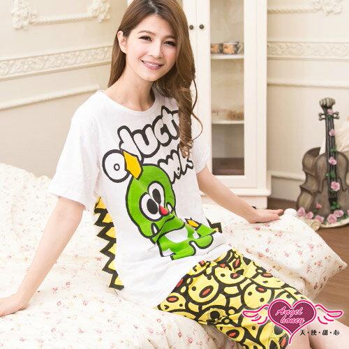 天使甜心 UC9904女 恐龍小雞短袖棉質睡衣組 日系/甜美/居家睡衣