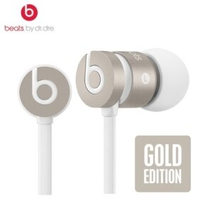 Beats urBeats with Mic 航空特仕版iPhone6 【金】耳道式耳機 beats by dr. dre 先創公司貨 原廠保固