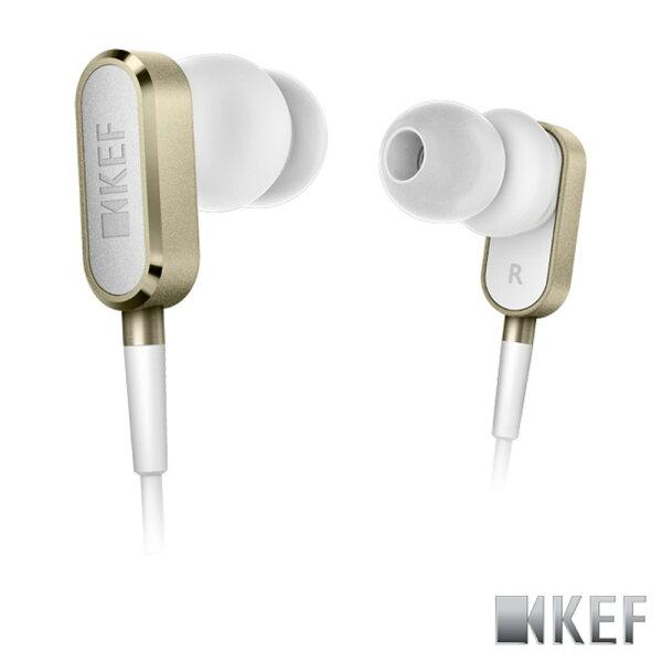 歌手方大同代言 英國 KEF M100 香檳金 鋁合金 10mm釹磁鐡單體 耳道式耳機