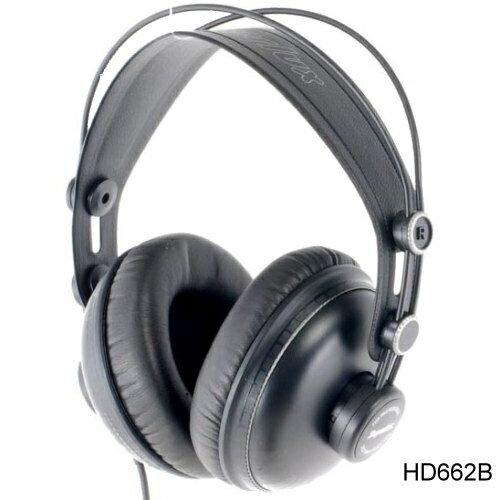 Superlux HD662B 專業監聽耳機 封閉式 耳罩式 頭戴式 公司貨 另有HD662F