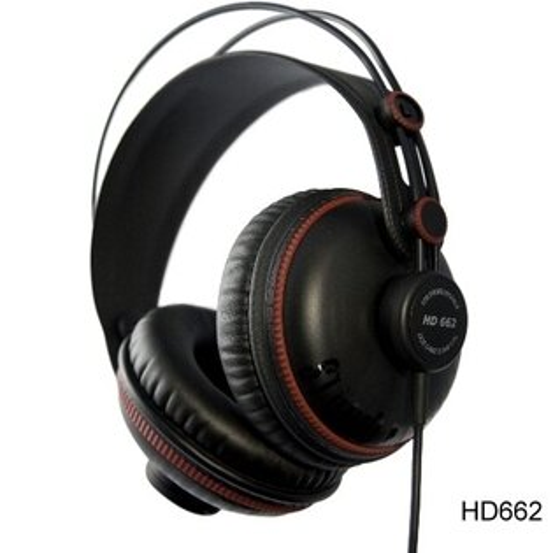 Superlux HD662 專業監聽耳機 封閉式 耳罩式 頭戴式 公司貨 另有HD662B/HD662F