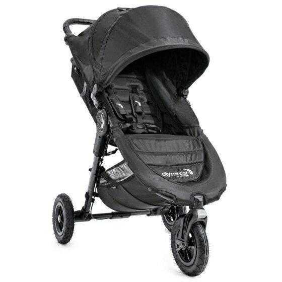美國【Baby Jogger】City Mini GT 三輪嬰兒手推車 1