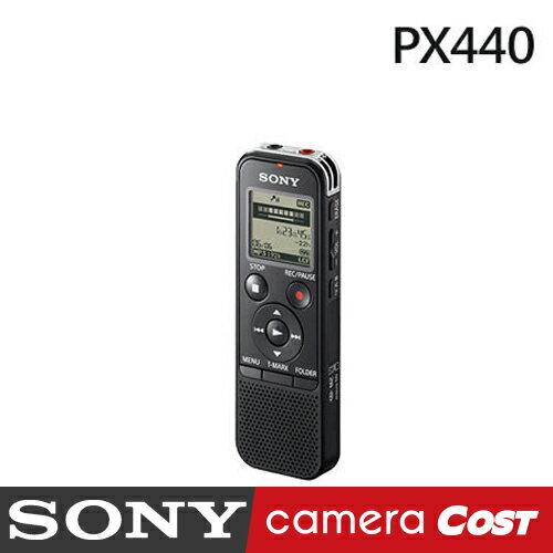 SONY ICD~PX440 錄音筆 4GB 4G PX440 可擴充 MP3格式錄音 ~