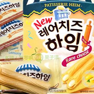 韓國CROWN 檸檬乳酪奶油威化酥 脆餅 [KR219] - 限時優惠好康折扣