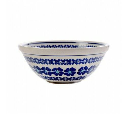 【預購】Polish Pottery波蘭陶- 可愛14.5cm餐碗 - 典雅小藍花 2