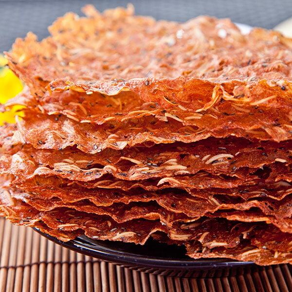 [小豬農莊]杏仁薄脆片肉紙(櫻花蝦芝麻口味) 2