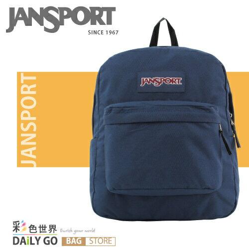 (小款包) JANSPORT 後背包 20公升-深藍 JS-43911-003