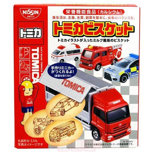 【糖果王】日本 日清TOMICA汽車造型餅