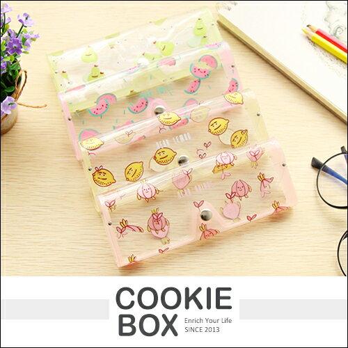 水果 小熊 透明 眼鏡盒 (大) 收納盒 輕巧 攜帶 眼鏡 生活 小物 *餅乾盒子*