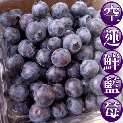 【築地一番鮮】空運加州藍莓6盒(125g/盒)-手工細心採收