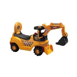 【淘氣寶寶】【CHING-CHING親親】挖土機遊戲車/挖土機助步車(WJ007 P50)