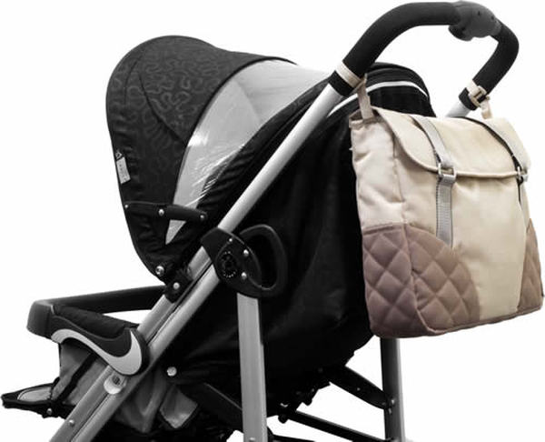 【淘氣寶寶】Zooper媽媽包/搭配嬰兒車專用的特別設計