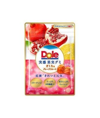 有樂町進口食品 【不二家】Dole石榴&葡萄柚軟糖(40g)  4902555121581 0