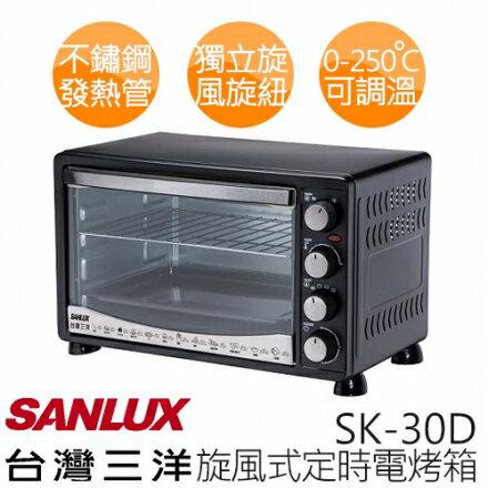 【三洋 SANLUX】30L 電烤箱 SK-30D