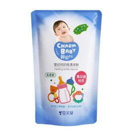 【悅兒樂婦幼用品舘】親貝比 雪芙蘭  嬰幼兒奶瓶清潔劑補充包600ml