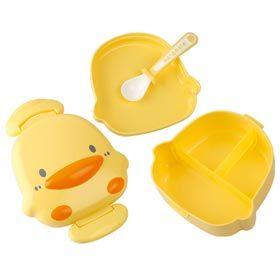 ~悅兒樂婦幼用品舘~Piyo 黃色小鴨 造形餐盒 ~  好康折扣