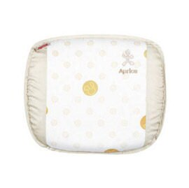 【悅兒樂婦幼用品舘】Aprica 愛普力卡 透氣舒壓嬰幼兒乳膠護頭枕-優雅米