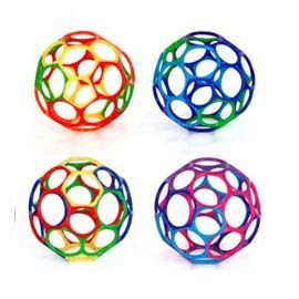 【悅兒樂婦幼用品舘】O ball 魔力洞動球-4吋洞動球