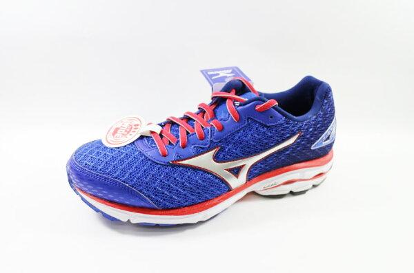 MIZUNO 美津濃 男超寬楦慢跑鞋 WAVE RIDER 19 SW J1GC160491 [陽光樂活]