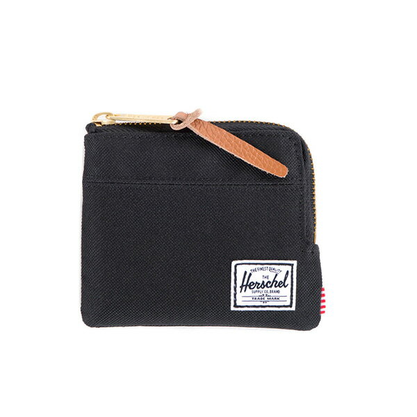 【EST】HERSCHEL JOHNNY WALLET 小皮夾 零錢包 黑 [HS-0094-001] F0421